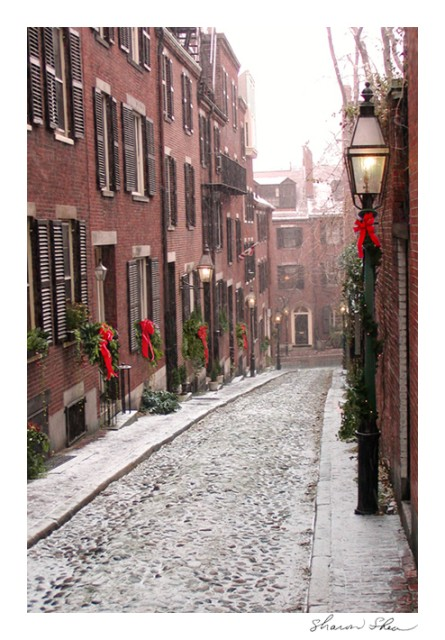 Salem design corporate business holiday christmas cards boston acorn street beacon hill boston sdss 1110 reheart Choice Image