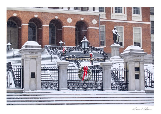 Salem design corporate business holiday christmas cards boston massachusetts state house boston ma sdss 1103 reheart Choice Image