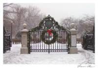 Highlight for album: Boston Christmas Holiday Corporate Custom Imprint Business Cards