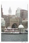 Rowes Wharf  facing Boston Harbor CCNESS 1062