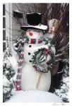 Floral Shop Snowman SDSS 1001