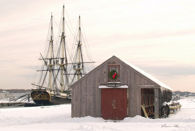 "Tall Ship ""Friendship"" and Rigging Shed